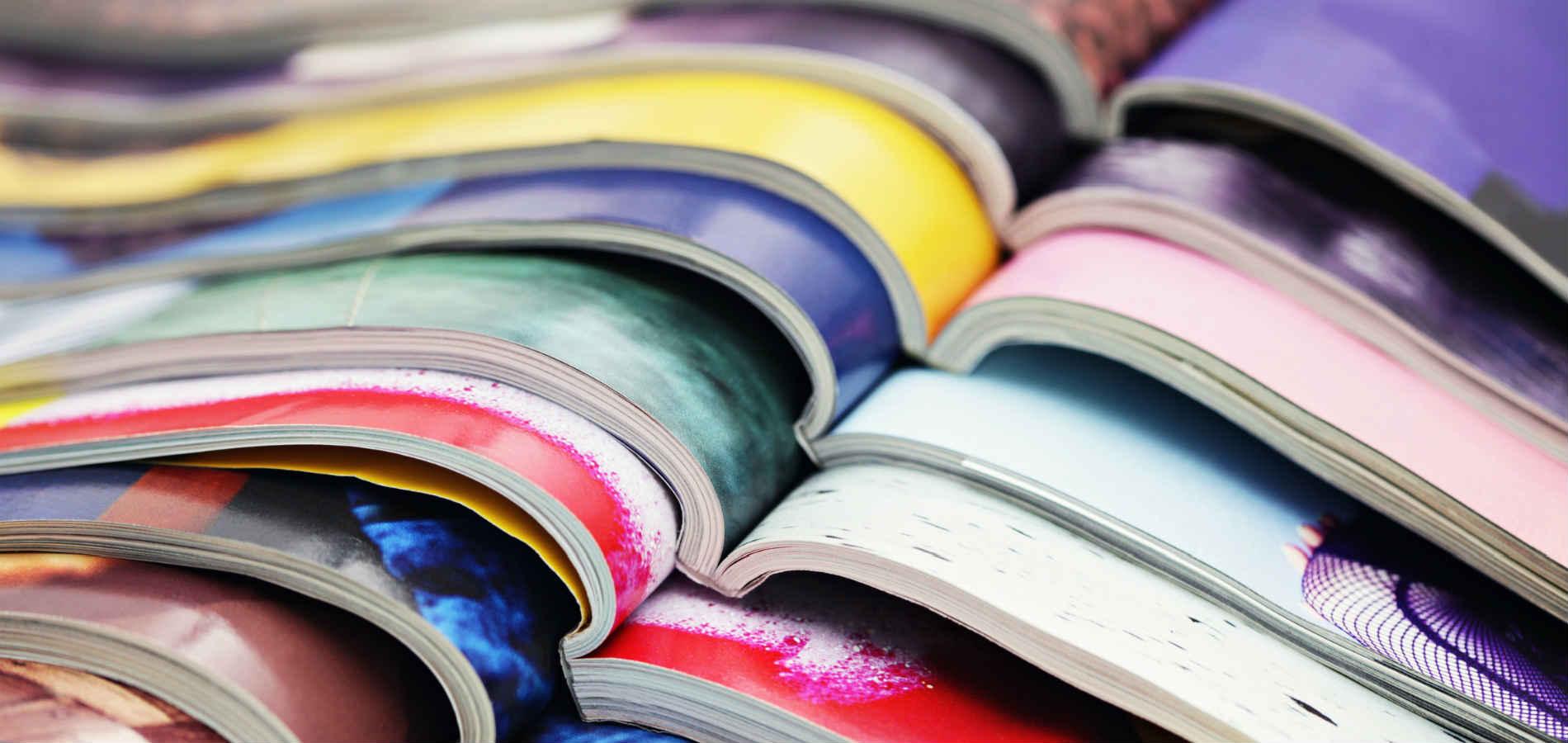 Wij drukken uw magazine